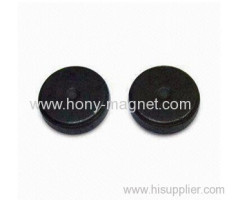 Thin small ferrite round generator magnetic