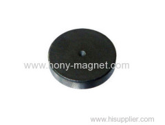 Good quality round ferrite starter motor magnets