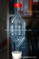 Bubble wine airlock for home brewing