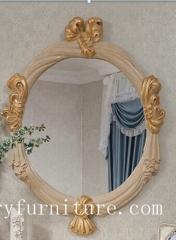 Mirror dressing mirror bath mirror classical mirror mirror factory console mirror