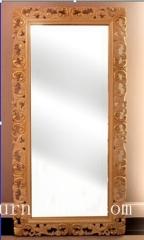 Floor mirror Antique mirror classical mirror wooden frame mirror stand mirror