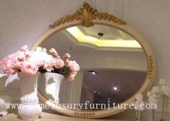 Classical wooden mirror decorat mirror dressing mirror wall mirror