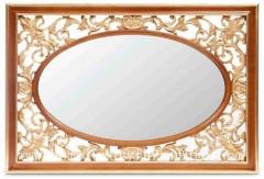 Mirror wooden frame mirror dressing mirror decoration mirror console mirror