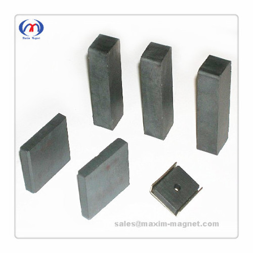 Ferrite/Ceramic block/square magnets and assembly