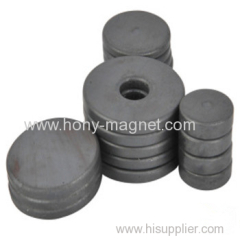 High performance strong ferrtie small circular magnets