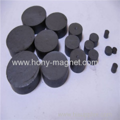 High performance bonded Ferrite radial round magnet