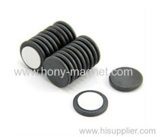 Bonded ferrite micro motor magnet