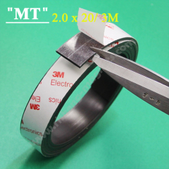 3M 20x2.2 mm A magnetic tape 3M Magnetic strip adhesive sticky Knife magnetic strip
