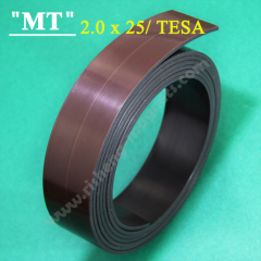 tesa 25x2.2 mm rolled Magnetic adhesive tape