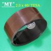 tesa 40x2.2 mm Adhesive magnetic tape roll tesa Magnetic strip label sticky Self adhesive magnetic dot