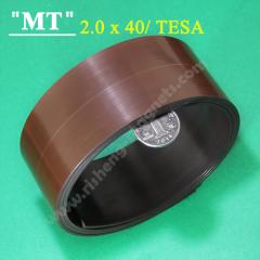 tesa 40x2.2 mm sticky Self adhesive magnetic dot