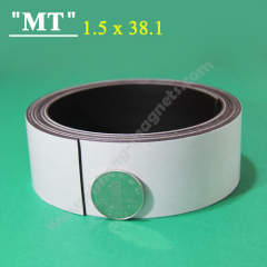 634 White magnetic strip rolled