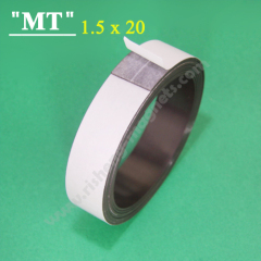 634 20x1.5mm sticky Self adhesive magnetic strip