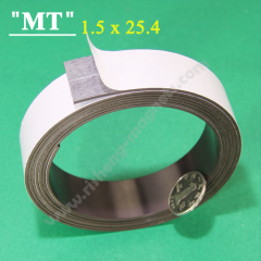 25.4x1.5mm self adhesive magnetic strips