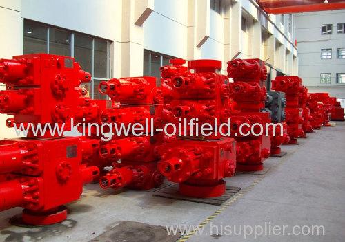 Oil Field Double Ram Blowout Preventor