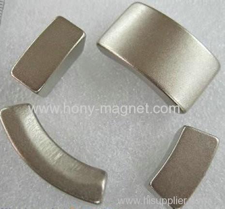 Sintered neodymium magnet for wind turbine generator
