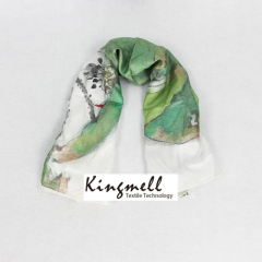 Custom Made Digital Printed Scarf