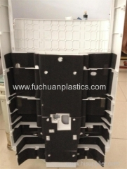 Air conditioner plastic front panel