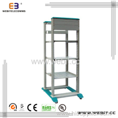 19'' open rack with 4 posts