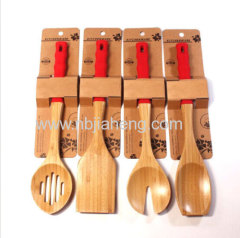 Kitchen eco-friendly Bamboo spoon for sale