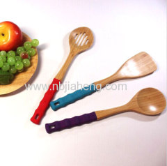 High quality Hot sale Durable eco friendly bamboo serving spoon