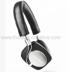 Bowers&Wilkins B&W P5 Over the head Portable Headphones Headsets Black