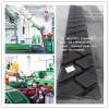Precured tread rubber in tyre retreading