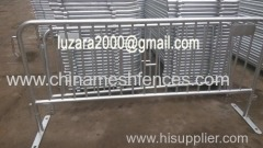 road pedestrian barrier;road safety barrier;temporary safety barrier;removable police barrier