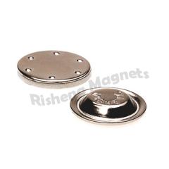 D17 x 4 mm magnetic name badges uk magnet badge magnetic badge holder with a pc of magnet