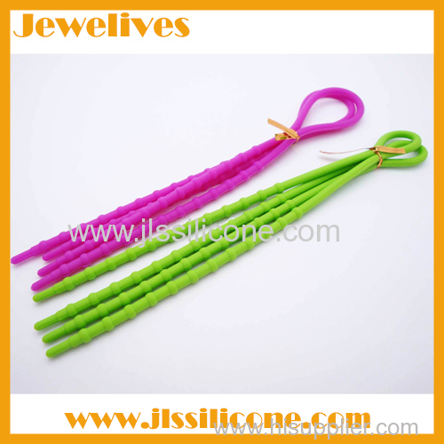 New hot items silicone shoelace