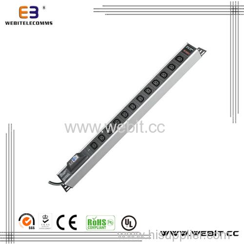 12way vertical IEC series PDU outlet