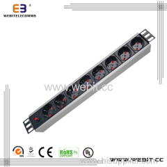 Italy type PDU strip with switch