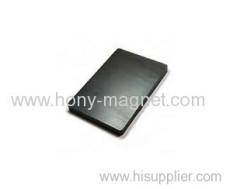 Corrosion Resistant bonded Ferrite Block Magnet Y33BH