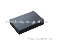 Hard bonded Ferrite Block Magnet for Sale