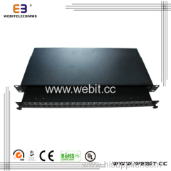 24 ports ST slot fiber patch panel