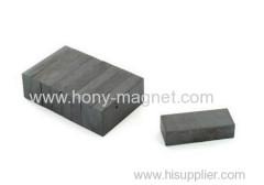Bonded Ferrite Block Magnet Y30 For Motor