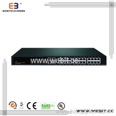 10/100/1000M Fiber Ethernet Switches 2~24 PORTS