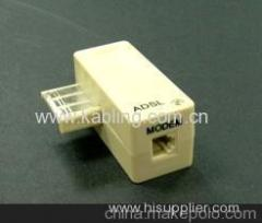 RJ11 french ADSL filter
