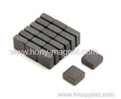 Bonded Ferrite Block Magnet Y33 For Generator