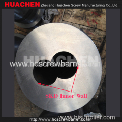 SKD Conical Twin Screw Barrel For High Wearing