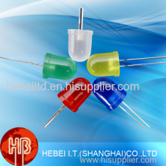 Wholesale Round Dip Diffused 10mm Blue Color Led Diodes