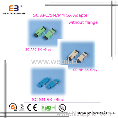 SC SX Adapter without flange