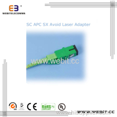 SC APC SX Avoid Laser Adapter-1