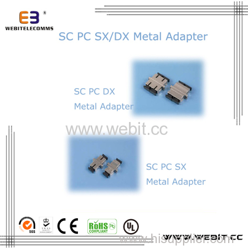 SC SX DX METAL Adapter