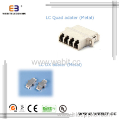 LC Duplex / QUAD ADAPTER METAL BODY