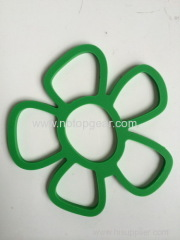Flower Geometry shape silicone pot holder