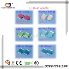 LC Quad Fiber Adapter
