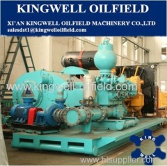 Oilfield Equipment F-800 Triplex Single Acting Mud Pump for Drilling Rig