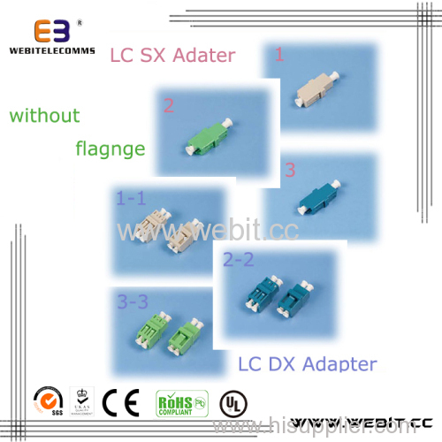 LC SX DX Adapter without flange