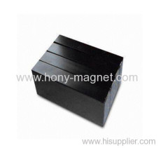 Strontium Bonded ferrite blocks shaped magnets